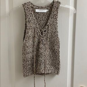 ASTR Knit Sleeveless Top